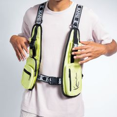 KK TAPE UTILITY VEST BAG YLW