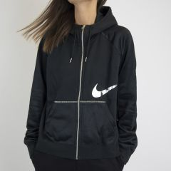 NIKE FULL-ZIP FLEECE BLACK