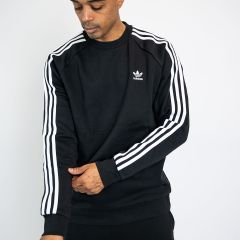 ADIDAS 3-STRIPES CREW BLACK