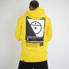 TNF STEEP TECH LOGO HOODIE YELLOW