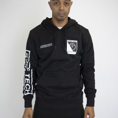 TNF STEEP TECH LOGO HOODIE BLACK