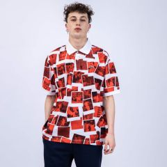 LACOSTE POLO POLAROID RED