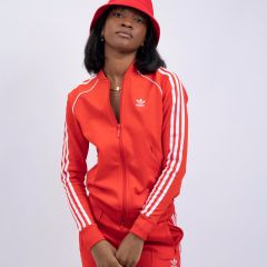 ADIDAS SST TRACKTOP RED
