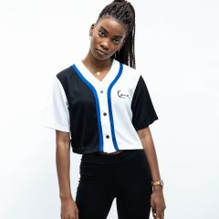 KARL KANI SMALL SIGNATURE CROP TOP