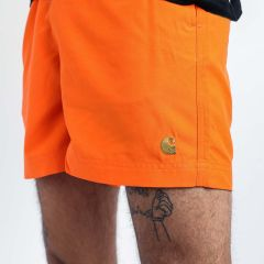 CARHARTT WIP CHASE SWIM TRUNKS ORANGE