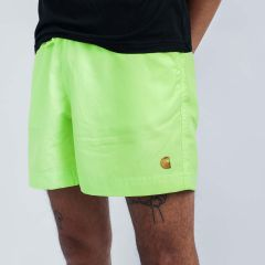 CARHARTT WIP CHASE SWIM TRUNKS LIME
