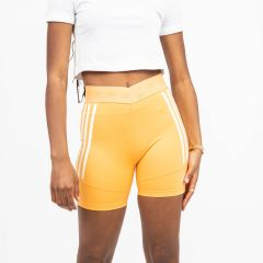 ADIDAS SHORT ORANGE/WHITE