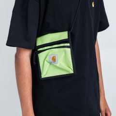 CARHARTT WIP DELTA NECK POUCH LIME