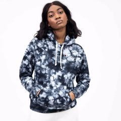 CHAMPION HOODED SWEATSHIRT TYE DIE