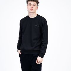 CARHARTT WIP EMBROIDERY SWEAT BLACK