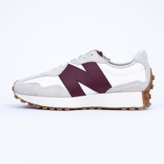 NEW BALANCE 327 WHITE/BORDEAU