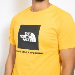 TNF S-S RAGLAN REDBOX TEE-SHIRT YELLOW