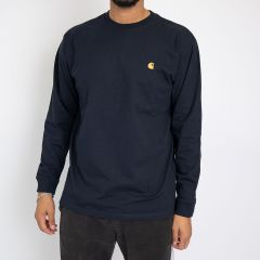 CARHARTT CHASE T-SHIRT NAVY-GOLD