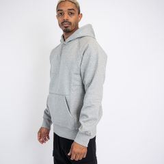 CARHARTTWIP HOODED CHASE SWEAT GREY