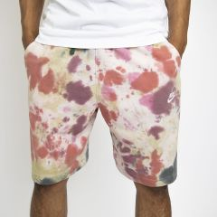 NIKE FRENCH TERRY SHORTS TIE AND DYE