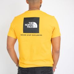 TNF S/S REDBOX TEE-SHIRT YELLOW