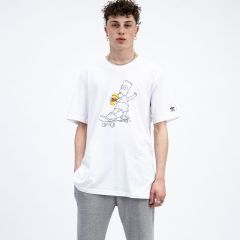 ADIDAS T-SHIRT SIMPSONS WHITE