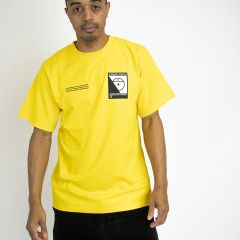 TNF S/S STEEP TECH LOGO TEE-SHIRT YELLOW