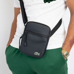 LACOSTE FLAT CROSSOVER BAG
