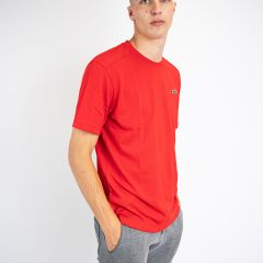 LACOSTE TEE-SHIRT ROUGE