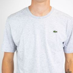 LACOSTE TEE-SHIRT ARGENT