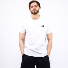 TNF SIMPLE DOME TEE WHITE