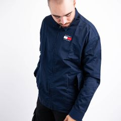 TOMMY HILFIGER CASUAL COTTON JACKET NAVY
