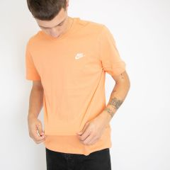 NIKE SPORTSWEAR CLUB TEE-SHIRT ORANGE