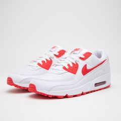 NIKE AIR MAX 90 WHITE-RED