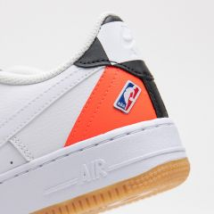 NIKE AIR FORCE 1 LV8 1 WHITE-BRIGHT CRIMSON-BLACK