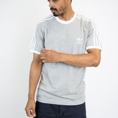 ADIDAS 3-STRIPES TEE-SHIRT GREY