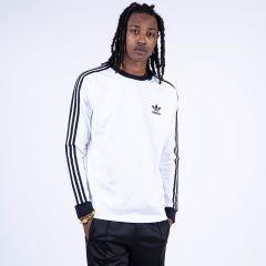 ADIDAS 3-STRIPES LS T WHITE