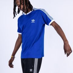 ADIDAS 3-STRIPES TEE-SHIRT BLUE