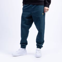 CARHARTT WIP CHASE SWEAT PANT FRASIER/GOLD