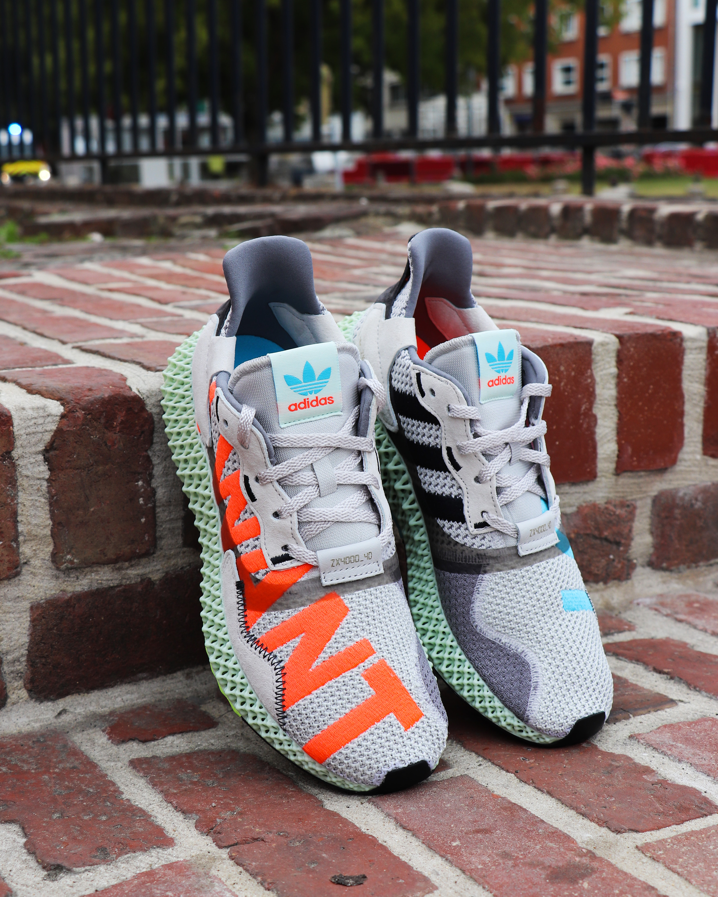 ADIDAS ZX 4000 4D « I WANT I CAN »