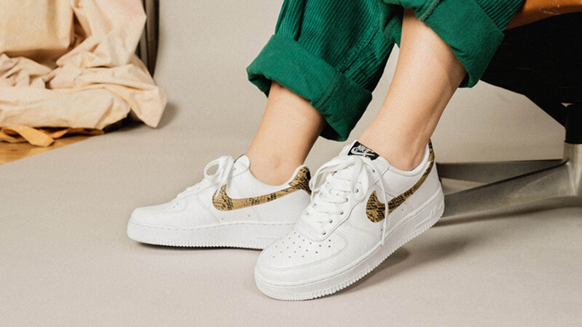 Air Force 1 Low Premium QS « Ivory Snake »